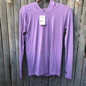 Free People Purple Long Sleeve Top